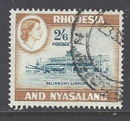 Rhodesia & Nyasaland Sc # 168 used (RS)
