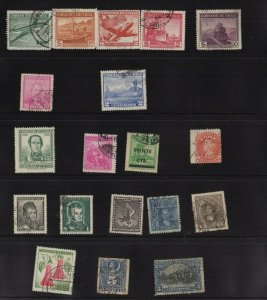CHILE Stamp Collection, An attractive lot! (S16)