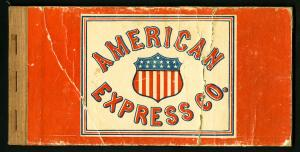 US Rare 1915 American Express Revenue Stamp Booklet
