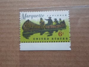 6 CENT STAMP MARQUETTE EXPLORER SC# 1356