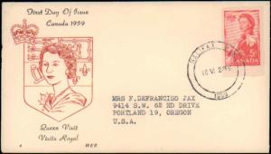 Canada, Worldwide First Day Cover