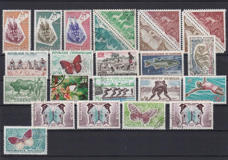 French Colonies Stamps Ref 25520