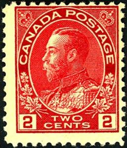 Canada #106 MINT OG HR