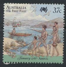 SG 1105  SC# 1030a  Used  - Australian Settlement 10th Issue
