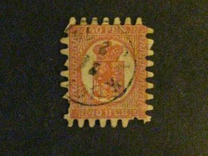 Finland #10 used a couple of pulled perfs c203 179