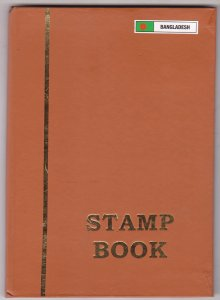 COLLECTION OF BANGLADESH STAMPS IN SMALL STOCK BOOK - 115 STAMPS