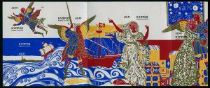 HERRICKSTAMP NEW ISSUES CYPRUS Sc.# 1221 Prince of Venice Self-Adh Stamp Booklet