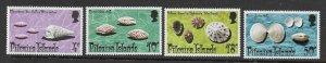 Pitcairn Is  137 - 140  (SG 147/50) Shells - MNH - VF - CV$4.95