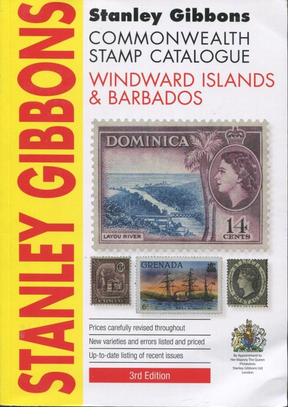Stanley Gibbons Commonwealth Stamp Catalogue Windward Islands Barbados 3rd Edit