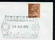 Postmark - Great Britain 1978 cover bearing illustrated c...