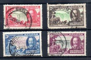 Southern Rhodesia KGV 1935 Silver Jubilee fine used set SG31-34 WS18722