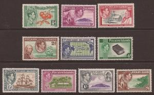 Pitcairn Islands scott #1-8 m/lh stock #F0802