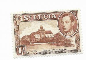St. Lucia #121a MH - Stamp - CAT VALUE $1.10