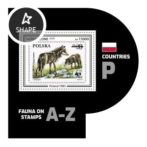 SIERRA LEONE - 2020 - Fauna on Stamps - Perf Souv Sheet #3 - Mint Never Hinged