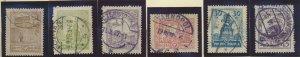 Poland Stamp Scott #227//237, Used, Short Set, 6 Different - Free U.S. Shippi...