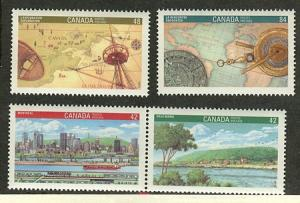 Canada USC #1404-7 Complete Mint - 1992 World Philatelic - VF-NH Face Alone$2.16
