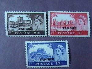 GREAT BRITAIN/OFFICES ABROAD/TANGIERS #-576-578-MINT/NH--COMPLETE SET--1955
