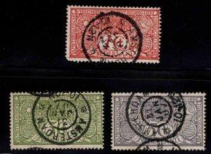 Netherlands Scott B1-B3 Used 1906 semi-postal CTO set