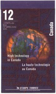 Canada - 1996 High Technology Complete Booklet #BK191b