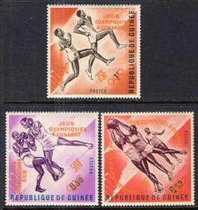 Guinea 312-314 Summer Olympics MNH VF