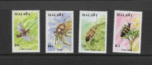 INSECTS - MALAWI #570-3  MNH