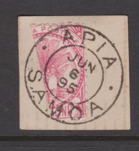 Samoa Sc#18a Used on Piece