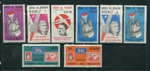 Paraguay space 1966 Mi-1567/1574 EUROPA FUSEE F. 9