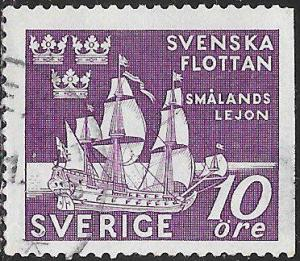 Sweden 356 Used - Tercentenary of the Swedish Naval Victory at Femern, 1644