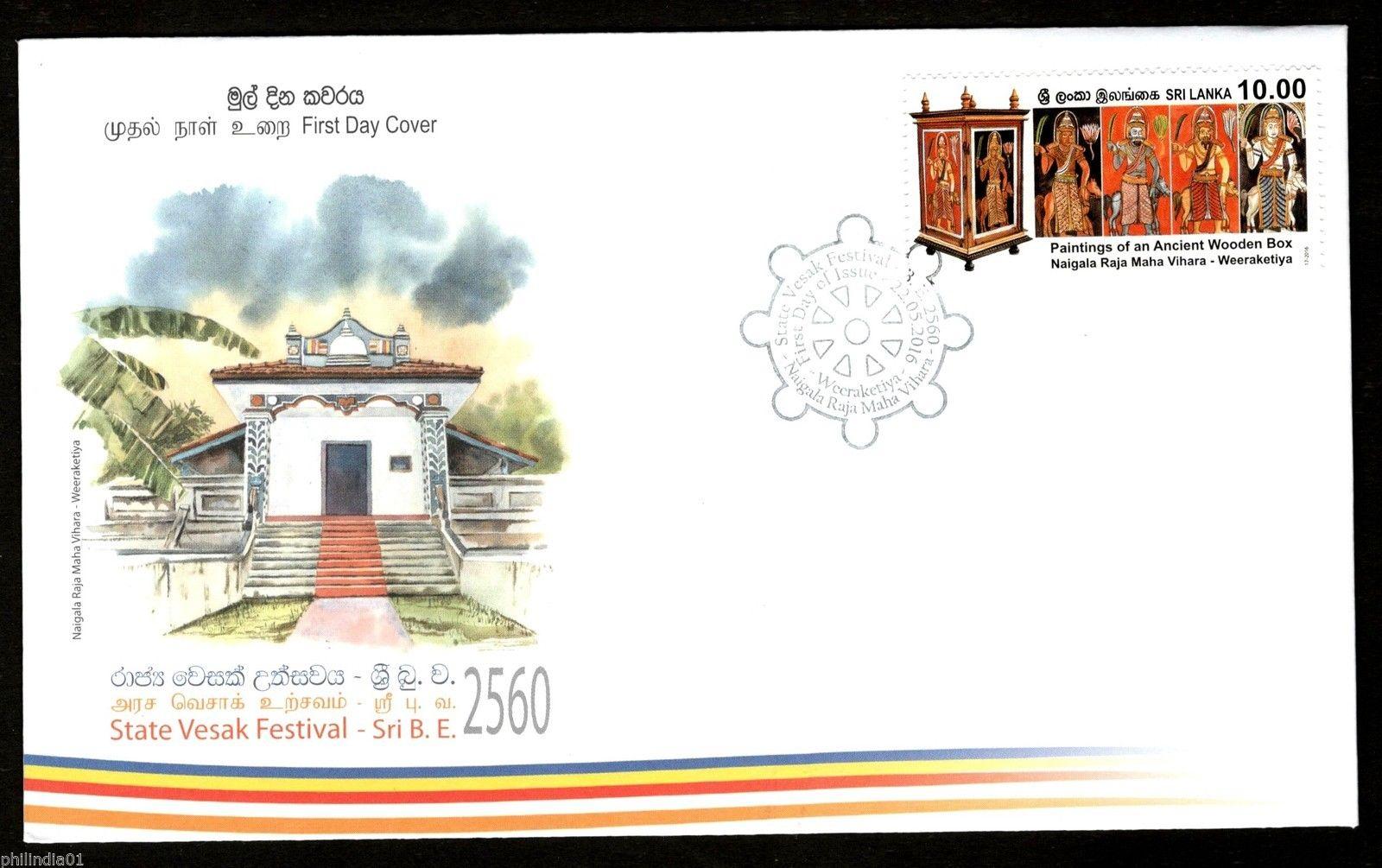 Sri Lanka 2016 State Vesak Festival Buddha Buddhist Culture