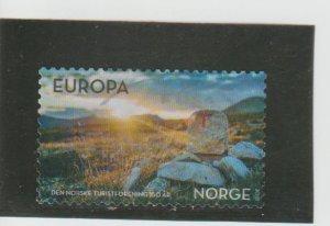 Norway  Scott#  1856  Used  (2018 Sun over Grahogda)