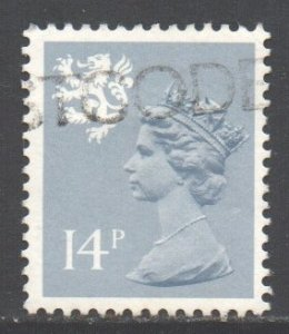 GB Regional Scotland, 1971 Machin 14p grey blue used