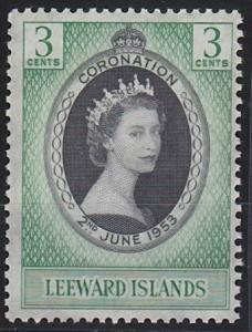 Leeward Islands 132 MNH (1953)