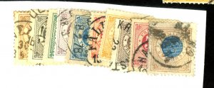 Sweden #28-36,38 Used FVF Cat$74