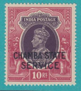 INDIA CHAMBA O54 MINT HINGED OG * NO FAULTS EXTRA FINE  !