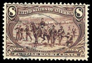 U.S. TRANS-MISS. ISSUE 289  Used (ID # 80646)