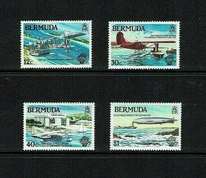 Bermuda:1984, Bicentenary of Manned Flight,  MNH set