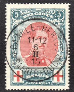 Belgium Scott B31 VF used with a splendid SON period dated cds.
