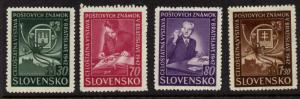 Slovakia 70-3 MNH Philatelic Exhibition, Stamp on Stamp