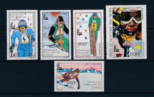 [60976] Congo Brazzaville 1979 Olympic games Lake placid Skiing MNH