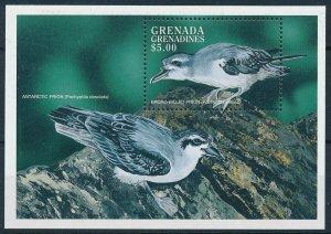 [108800] Grenada Grenadines 1998 Birds vögel Prions Whalebirds Sheet MNH