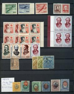 CHILE MINT & USED SELECTION STARTING WITH COLONES CLASSICS HIGH CATALOGUE VALUE