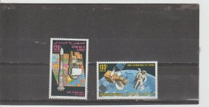 Djibouti  Scott#  702-703  MNH  (1992 International Space Year)