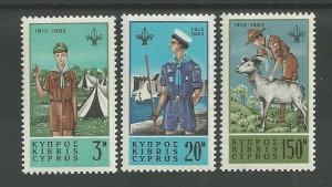 1963 Boy Scout Cyprus Sea Scout
