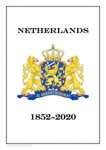 Netherlands Nederland 1852-2020 PDF(DIGITAL) STAMP ALBUM PAGES