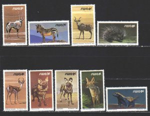 South west africa. 1980. 476-92 from the series. Fauna of africa. MNH.