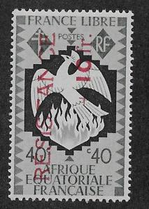 FRENCH EQUATORIAL AFRICA SC# B28  FVF/MLH  1944