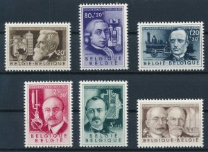 [I1124] Belgium 1955 Famous People good set of stamps very fine MNH $48
