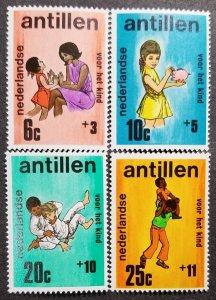 Netherland Antilles MNH B105-8 Children Playing 1970