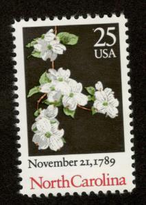 2347 North Carolina US Single Mint/nh Free Shipping