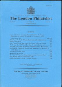 The London Philatelist: Vol. 108, Number 1269,
